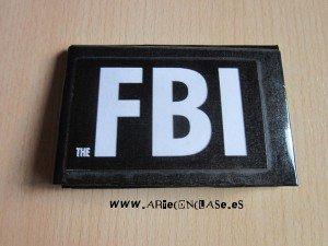 Tarjetero FBI Arte con clase manualidades tanto enc asa como en clase