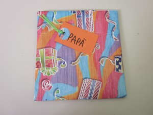 Detalle regalo día del padre Arte con clase manualidades tanto en casa como en clase